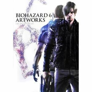 Resident-Evil-6-Art-Works-book-Biohazard-6