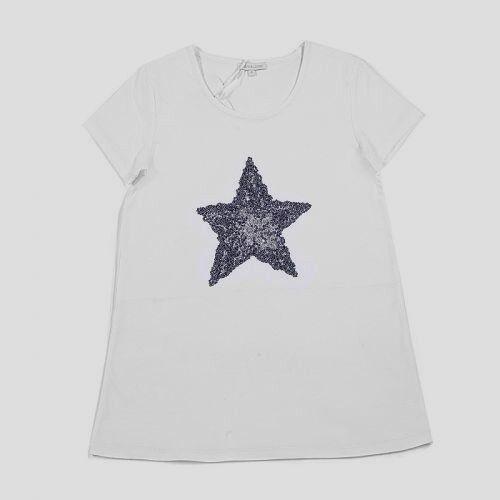 Stern Shirt weiß Kurzarm Louis & Louisa S