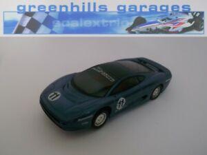 Greenhills Scalextric Jaguar XJ220C No.11 C290 Type 1 - Used - 21735