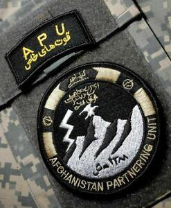 KANDAHAR WHACKER© AFGHAN NATIONAL ARMY Afghanistan Partner Unit (APU) w/TAB SET