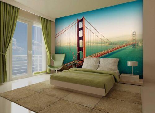 San Francisco Wallpaper Wall Mural 2.32m x 3.15m New FREE P+P interior walls