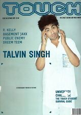 Talvin Singh on Touch Magazine Cover 1999      R. Kelly