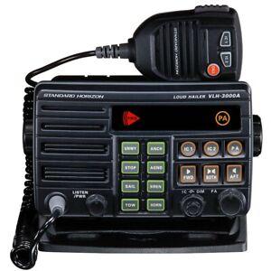 Standard-Horizon-30W-Dual-Zone-PA-Loud-Hailer-Fog-w-Listen-Back-VLH-3000A