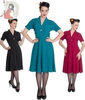 HELL BUNNY 40s 50s JOCELYN vintage style DRESS