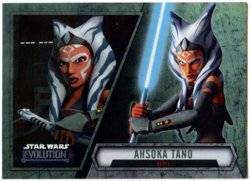 Rebel #12 Star Wars Evolution 2016 Topps Trade Card C1984 Ahsoka Tano