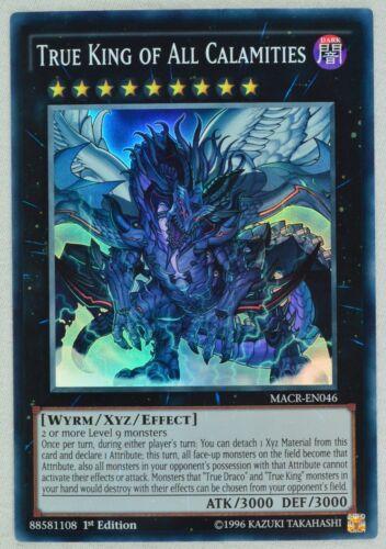 Maximum Crisis  MACR Super Rare 1st Edition Choose from list Yugioh