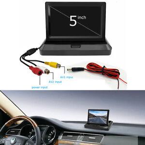 5-Inch-800-x-480-HD-Car-Auto-TFT-LCD-Digital-Foldable-Monitor-for-Camera-DVD-VCR