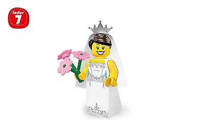 """~ The /""""BRIDE/"""" ~ 2012 LEGO MINIFIGURES SERIES 7 8831 SEALED PACK"""