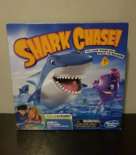Hasbro Shark Chase Board Game For Kids Ages 5 Elefun and Friends