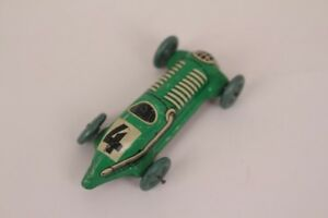 Distler-Rennauto-Nr-4-Tin-Car-Tin-Toy-Penny-Toy-Without-Propulsion-Germany