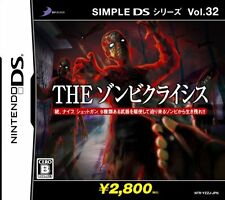 Used Nintendo DS SIMPLE DS Series Vol.32 THE Zombie Crisis Import Japan