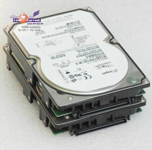 36gb SCSI Compaq Bd0366459b 233806-003 Man3367mc SCSI Sca Hard Drive HDD #K363