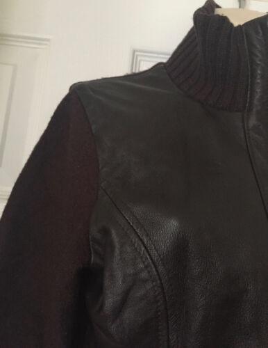 Size Brown Leather Women's Next 12 Jacket wg7v16