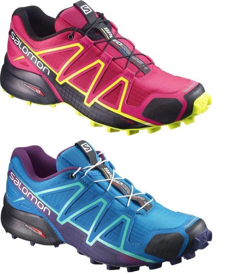 SALOMON Speedcross 4 W Damen Damens Laufschuhe Größe wählbar Neue Farben  NEUWARE