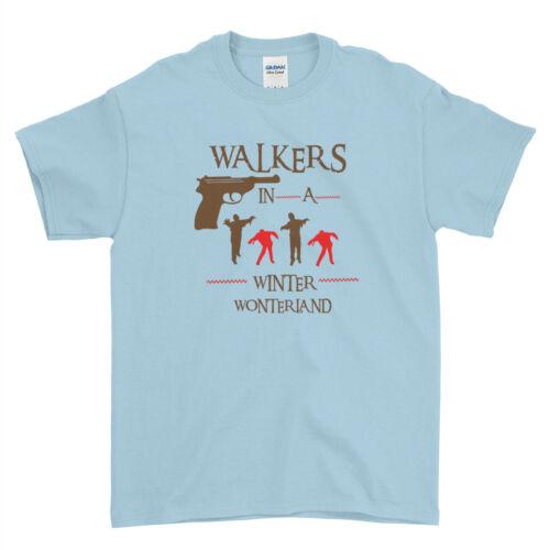 UGLY Joyeux Noël The Walking Dead Zombie Hommes Femmes Enfants T-Shirt