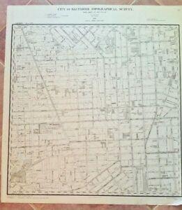 Camden Yards Map on