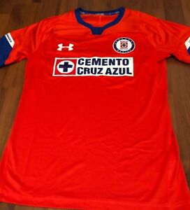 a55df874d08 Under Armour Professional On-Field Cruz Azul Third 18 19 Jersey Sz ...