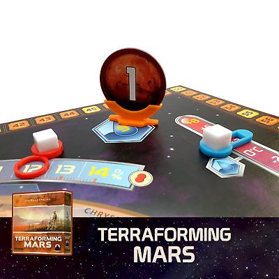 Terraforming Mars 5x Astronauts Player Marker Board Game