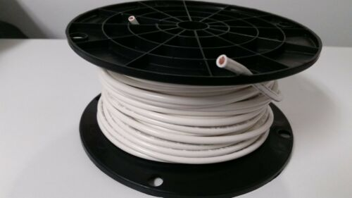 10 GAUGE WIRE WHITE 500/' FT PRIMARY AWG STRANDED COPPER POWER REMOTE MTW