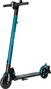 SOFLOW SO1 E-Scooter schwarz grün mit dt. Straßenzulassung Reichweite 12km