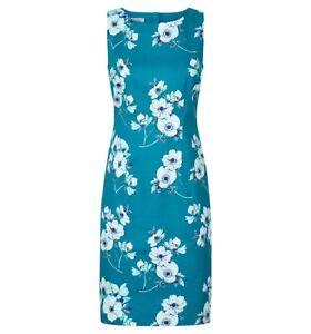 Peacock 149 £ Uk Rrp etichette con Taglia Multi Hobbs Nuovo Camilla Dress 8 Zx8CCz
