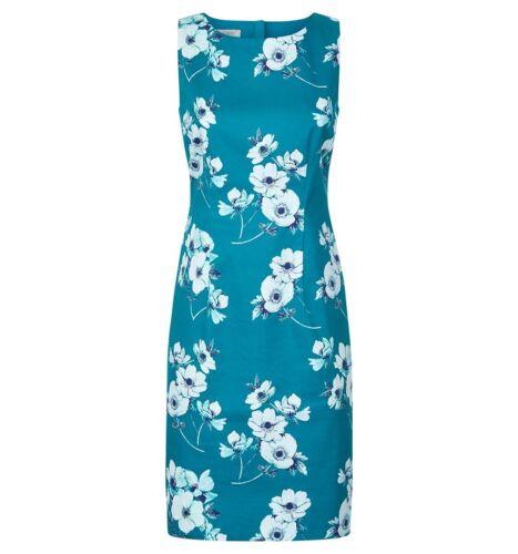 Nuovo Dress Taglia con £ 149 8 Uk Peacock Multi etichette Camilla Hobbs Rrp TAZOx