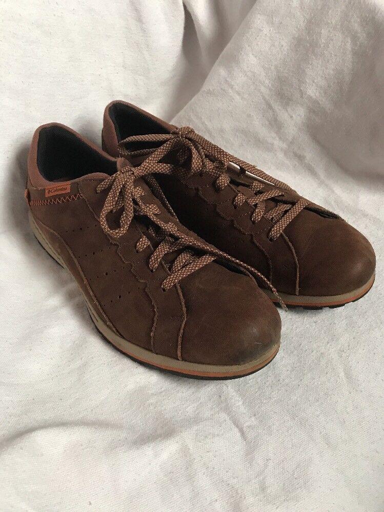Columbia Brown Suede Oxfords Tie Mens Causal Walking shoes