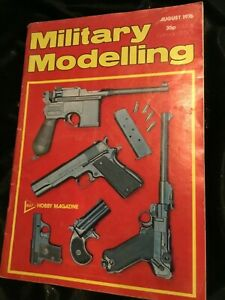 Vintage MILITARY MODELLING Magazine (UK)  AUGUST 1976