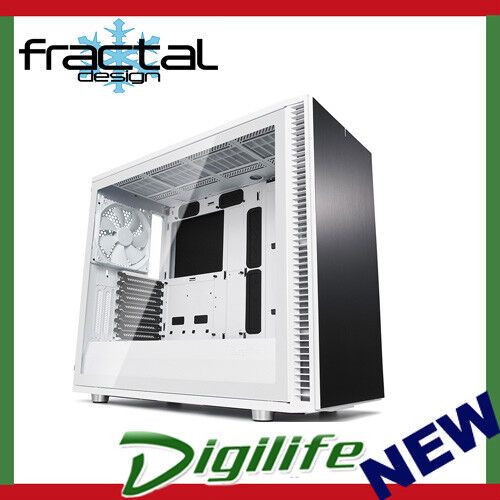 Fractal Design Define S2 TG White Tempered Glass Mid Tower ATX Case