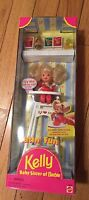 Mattel 1997 Eatin' Fun Kelly Baby Sister Of Barbie Doll
