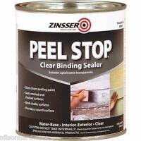 3 Pk Qt Clear Zinsser Peel Stop Binding Interior/exterior Paint Primer 60004
