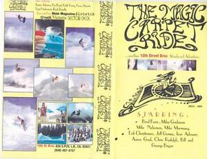 SURFING-THE-MAGIC-CARPET-RIDE-VHS-PAL-VIDEO-A-RARE-FIND
