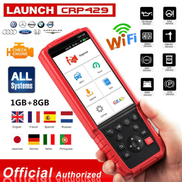 LAUNCH CRP429 as MK808 MX808 OBD2 Diagnostic Code Reader Scanner EPB Coding IMMO