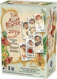 2019-Topps-Allen-and-Ginter-Baseball-Factory-Sealed-8-Pack-Blaster-Box