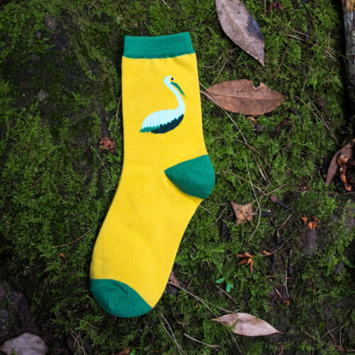 Lovely Cartoon Bird Animal Design Cotton Socks Casual Sock Autumn Winter Socks