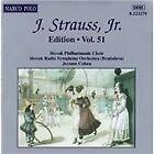 Johann II Strauss - J. Strauss, Jr. Edition, Vol. 51 (1996)