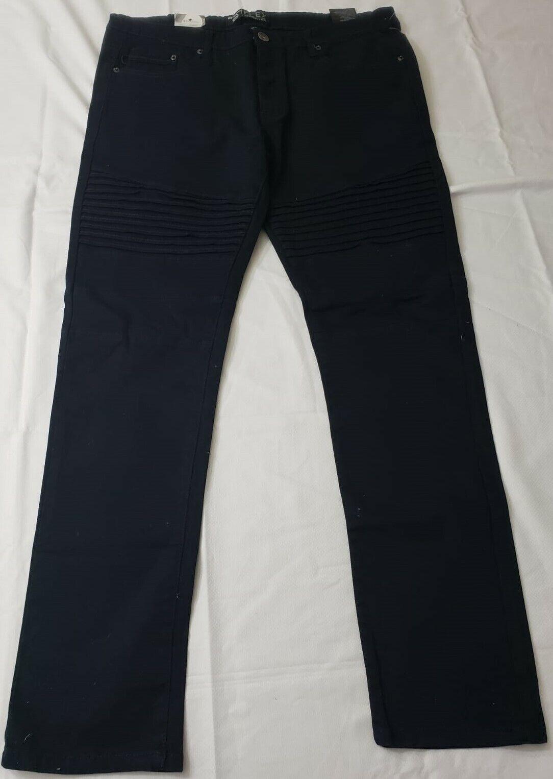 Southpole Men's Flex Stretch Basic Twill and Rinse Denim Pants Size 38 x 32
