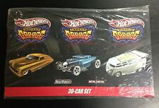 Hot Wheels 2010 Garage 30 Car Set - Wayne's, Larry's, Phil's Garage Unopened
