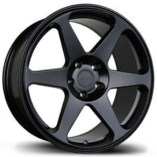 Avid1 AV38 Rims 18x9.5 +30 5x114.3 Black EVO STI 240sx IS300 Supra WRX Civic TSX