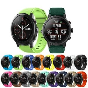 For Various Smart Watches Silicone Fitness Wrist Band Strap Gym Sports