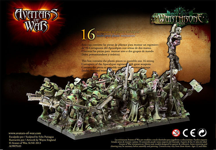 Avatars of of of War  Corrupters of the Apocalypse GW - AOWpl03 - Character 353367