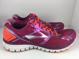 35635c446c8e1f Brooks Ghost 8 Women s 11 Pink Fiery Coral Running Shoes Sneakers ...
