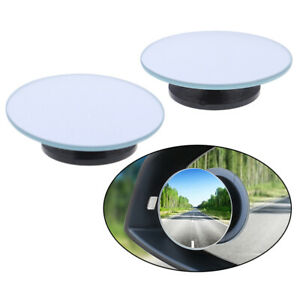 1-Pair-Wide-Angle-Round-Convex-Blind-Spot-Mirror-Car-Auto-Rear-View-Universal-I2