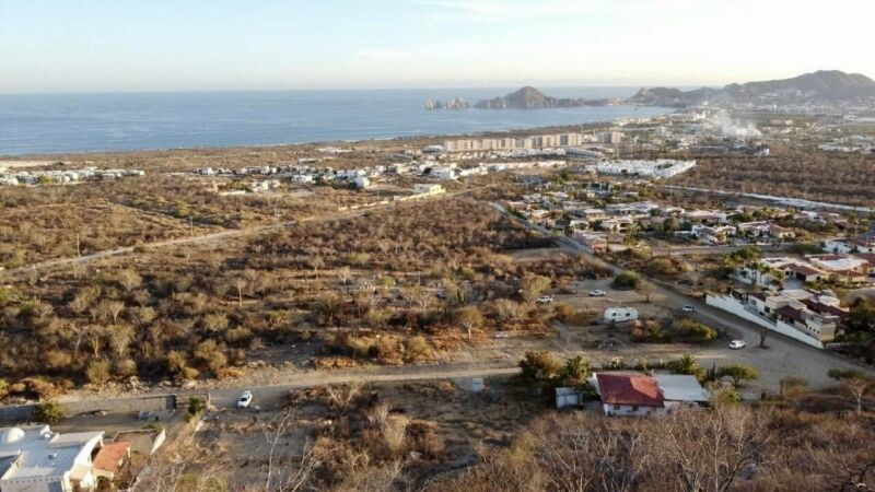 LOTES DE 400 METROS EN CABO SAN LUCAS HERMOSA VISTA AL ARCO