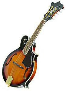 Crestwood-Mandolin-F-Style-Sunburst-Spruce-Top-Mahogany-Back