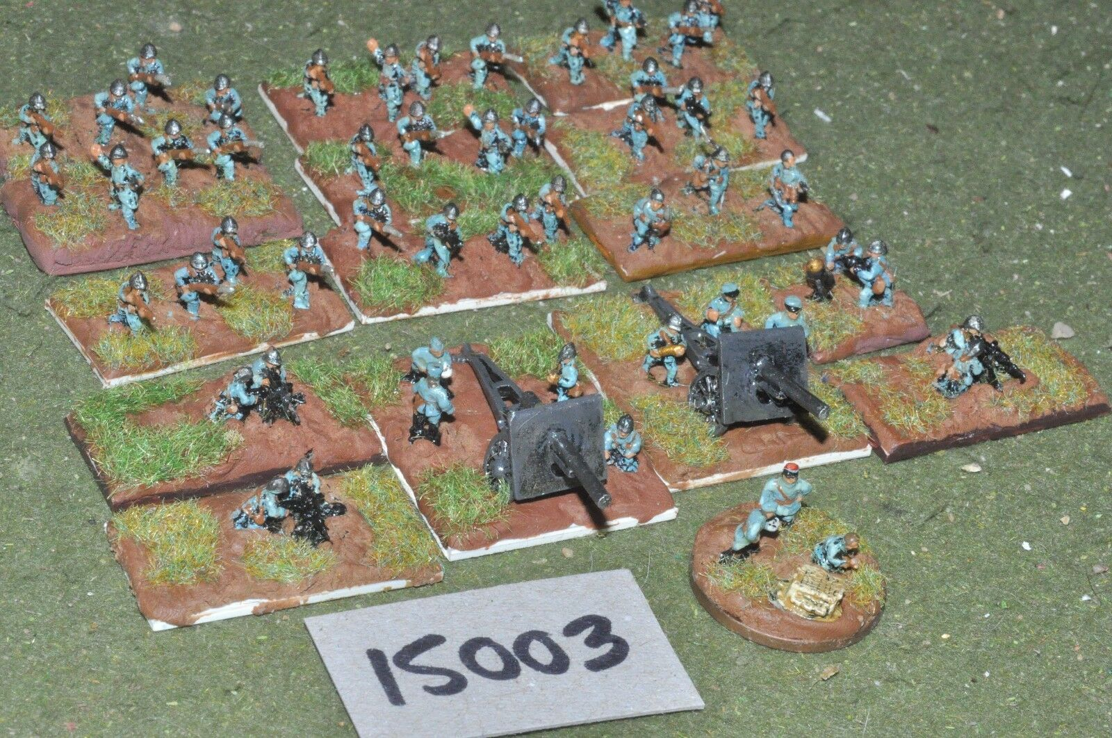 10mm WW1   french - battle group - inf (15003)