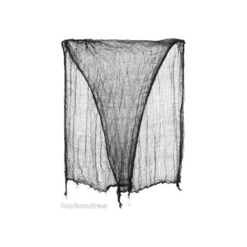Grand Creepy Cloth 200 x 93 cm Torn Décoration Halloween Fenêtre Porte Prop Fête