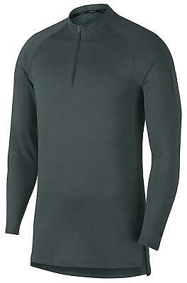 NWT A Nike Dri Fit 1//4 Zip Utility Training Top Grey AA1589 036 Mens  $50