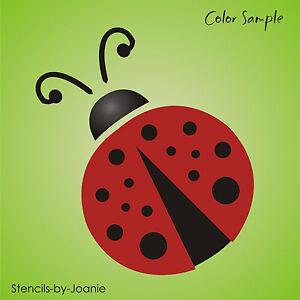 image is loading joanie stencil 3 034 ladybug summer prim garden - Prim Garden