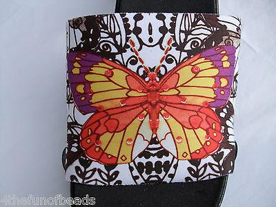 """Onesole Interchangeable Shoe Tops """"SS-376""""  Butterfly"""
